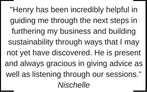 Small Business Coaching Testimonial