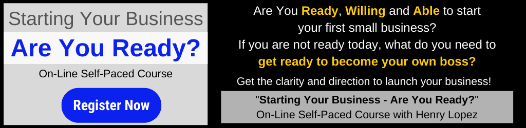 Starting Your Business - Are You Ready? Online Course