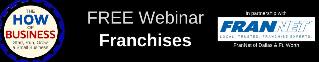 Franchise Business Webinar