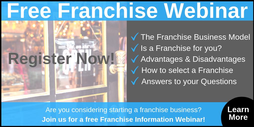 Free Franchise Webinar