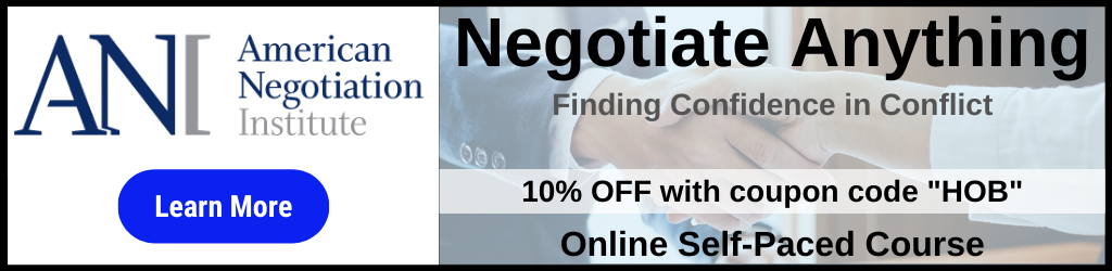 Negotiation Course
